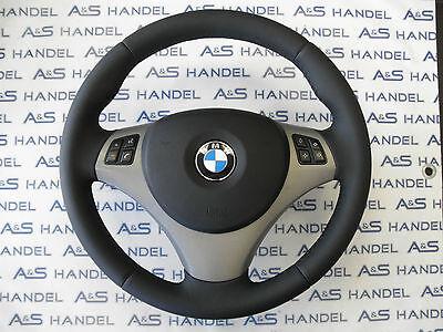 STEERING WHEEL. VOLANTE neubezogen per BMW e46 e altri modelli