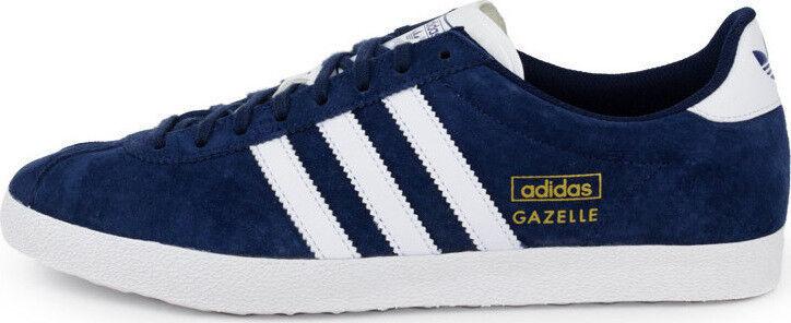 Adidas Gazelle Og, Q21600, Azul Marino blancoo Tallas para Hombres UK 7 - 12 Tamaños Inc media