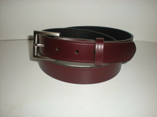 30mm 7 COLOURS AVAILABLE T1BN REAL LEATHER SUIT OR TROUSER BELTS  SMALL TO XXL
