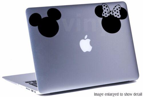 "5/"" MICKEY /& MINNIE SILHOUETTE Vinyl Decal Sticker Car Window Laptop Disney"