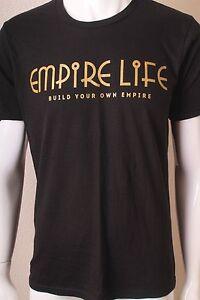 30240e647f3fea Empire Life Clothing Black Gold Sz 3XL OG Font T Shirt To Match ...