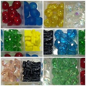 WHOLESALE LOT~ASSORTED MIXED COLORS-CZECH GLASS BUTTERFLY BEADS-NEW STORAGE BOX