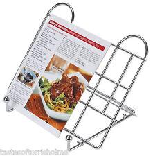 Kitchen Craft Regolabile Pieghevole Filo ricetta libro cucina Stand e Supporto