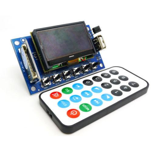 LCD 12v MP3 Player WMA WAV decoder audio board FM Radio Bluetooth Receiver car