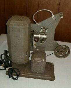 Antique-EXCEL-8mm-Film-Movie-Projector-Needs-Belt-Great-Decor-Piece-Or-Restore