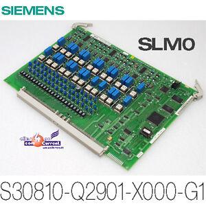 SIEMENS-BAUGRUPPE-SLM0-TELEFONANLAGE-S30810-Q2901-X000-G1-A30810-X2901-X-E1-7411