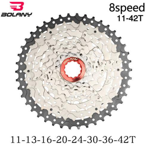 Bolany 8 speed cassette 11-42T MTB mountain bike freewheel ultralight  flywheel
