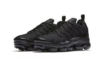 hot sale online 06bb4 849a2 OG NIKE AIR MAX VAPORMAX PLUS TN, UK9, TRIPLE BLACK EDITION, 924453004 |  eBay