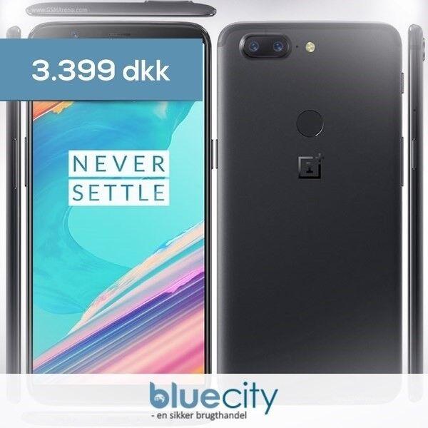 OnePlus OnePlus 5T 128GB Sort, OnePlus 5T 128GB Sort