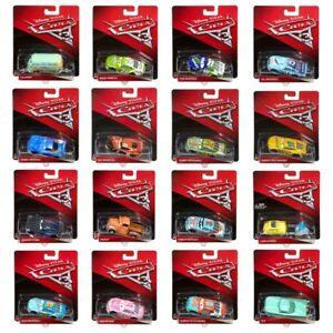 Modelle-Auswahl-Auto-Disney-Cars-3-Cast-1-55-Fahrzeuge-Mattel