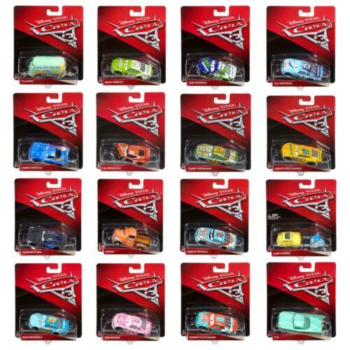 Modelle Auswahl AutoDisney Cars 3Cast 1:55 FahrzeugeMattel