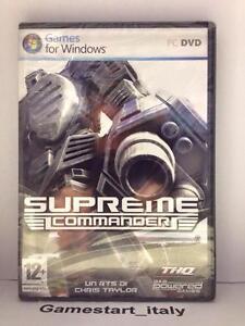 SUPREME-COMMANDER-PC-NUOVO-SIGILLATO-NEW