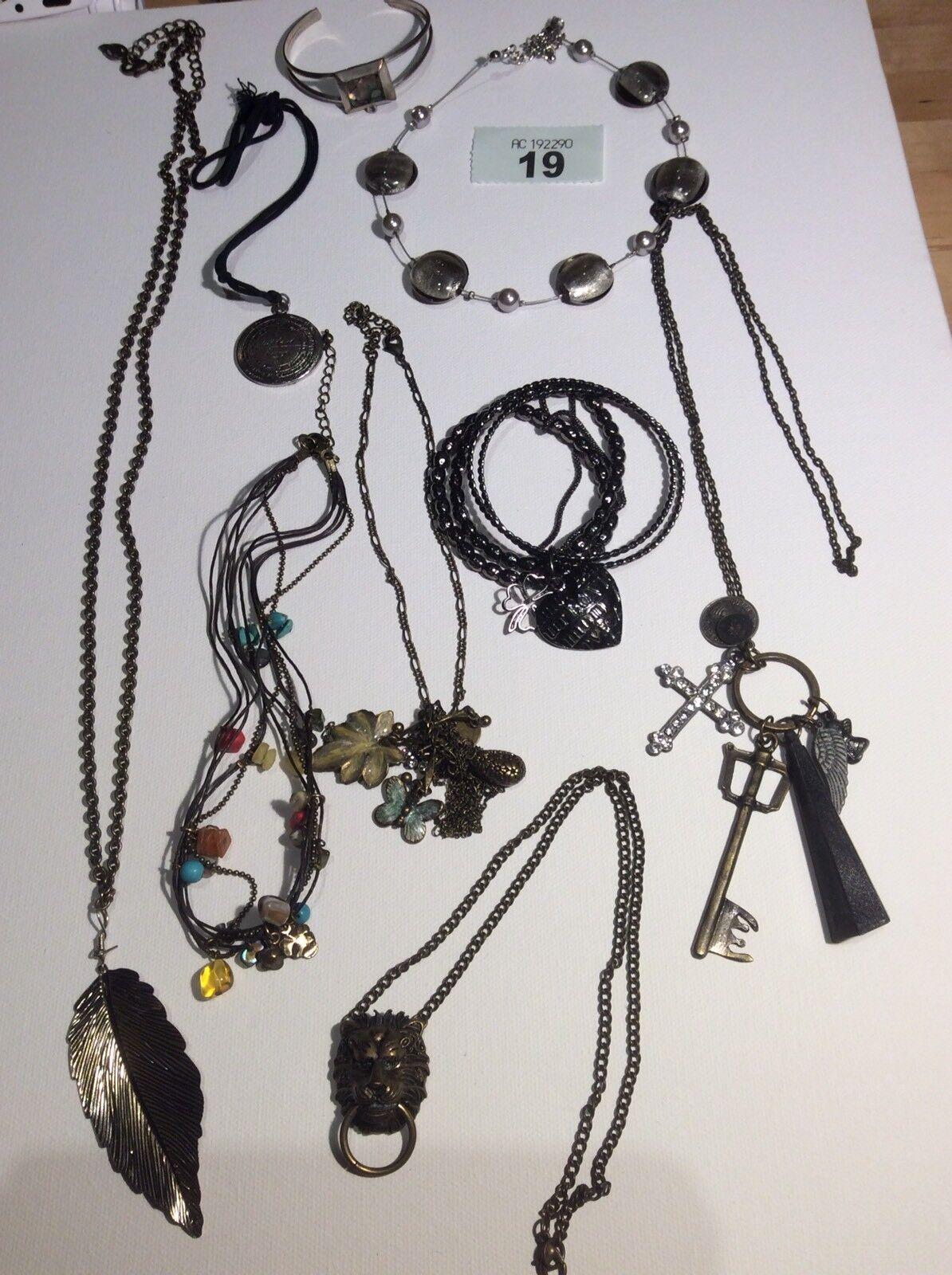 Beautiful Job Lot Of Silver / Bronze & Grey Tone Jewellery Crystals