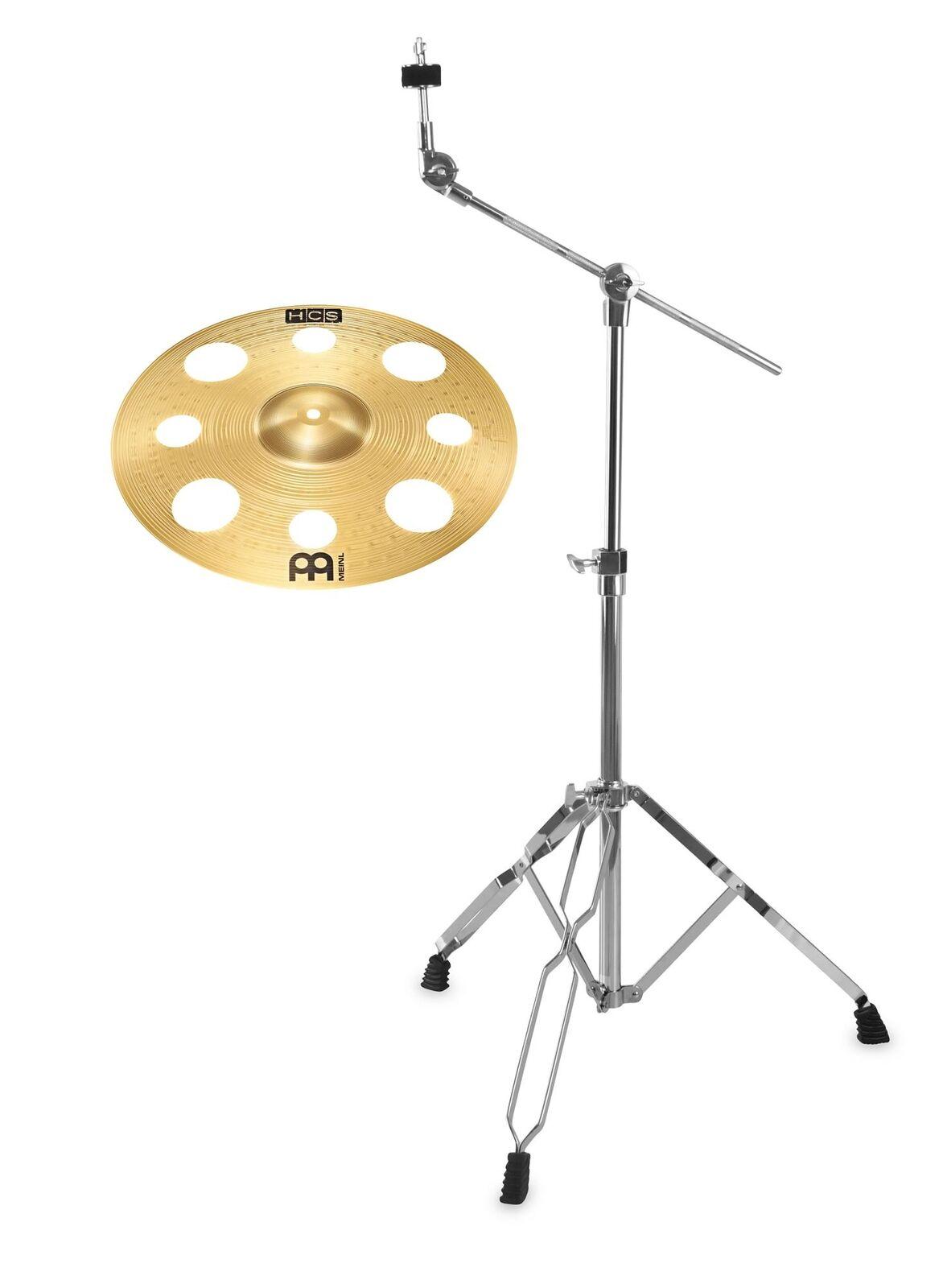 Meinl HCS 16  Trash Crash Galgen Becken Ständer Set Cymbal Einsteiger Boom Stand