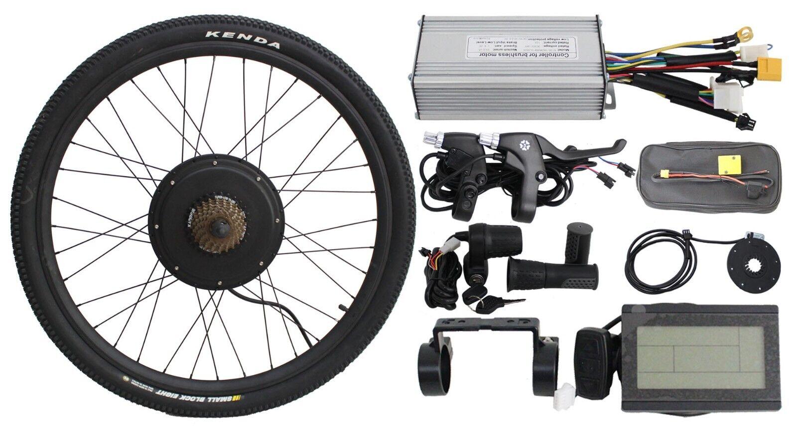 Fast shipping 48V 1200w Threaded Rear Wheel Ebike Conversion kit controller