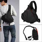 Black DSLR SLR Digital Sling Camera Case Shoulder Bag Backpack For NIKON CANON