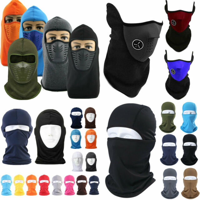 Motorcycle Cycling Balaclava Biker Full Face Ski Mask Under Helmet Neck Warm Cap