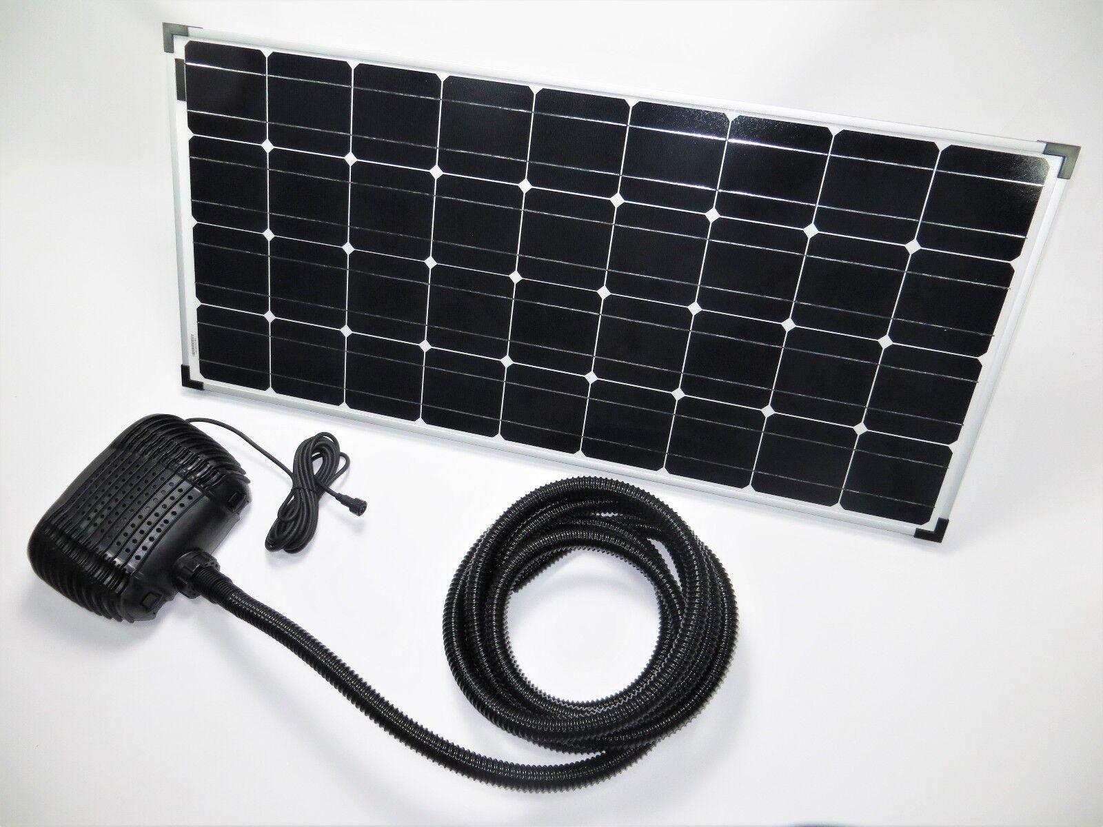 100 W Solar Pompa Stagno Filtro Immersione da Giardino