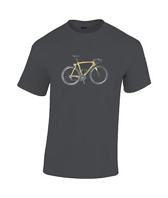 Miguel indurain Team Banesto pinarello TT bicycle cotton T-shirt  campagnolo