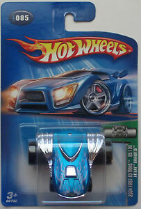 Toys & Hobbies Blue Version 2004 Hot Wheels First Edition Fatbax Exhausted 85/100