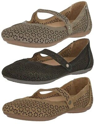 OLUKAI SAMPLE 20251 WOMEN/'S MOMI LEATHER FLATS PERFORATED SLIP ON SHOES US 7