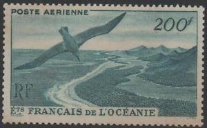 OCEANIE-POLYNESIE-STAMP-TIMBRE-AVION-28-034-VUE-COTE-OISEAU-034-NEUF-x-TTB-J736