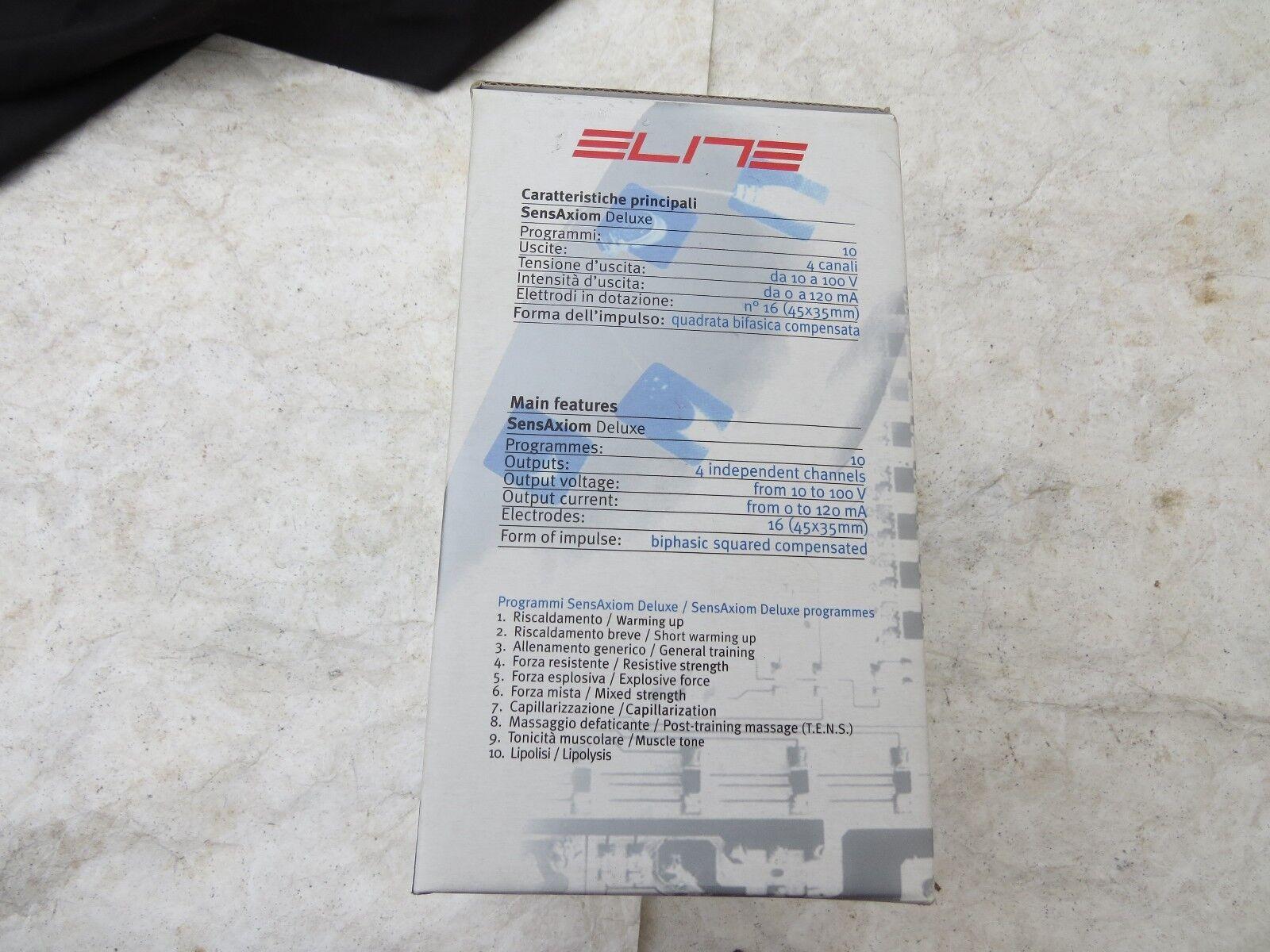 Elite Sens Axiom Muscolo Electrostimulator Delux Allenamento Allenamento Allenamento Strada Mountain 1e9456