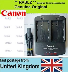 Genuine-CANON-Duel-Charger-CA-PS400-BP-511A-EOS-50D-40D-30D-20D-5D-MK1-300D