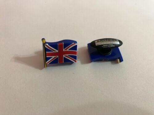 Great Britain Flag Shoe-Doodle for holes of Rubber Shoes Crocs Shoe Charm PSC310