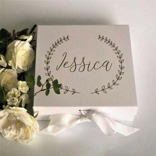 Flower Girl Gift Box A3B Personalised Wedding Gift Boxes Elegant Gift Box