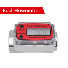 Digital High Accuracy Turbine Flowmeter For Water Measuring Chemicals Kerosene