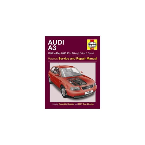 Service & Repair Manuals Genuine Haynes Workshop Manual Audi A3 ...