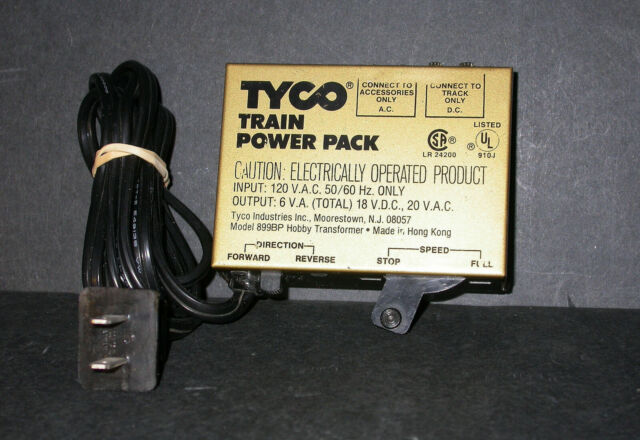 ho trains track and transformer wiring tyco model 899bp hobby transformer railroad train power pack ho  899bp hobby transformer railroad train