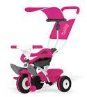 Smoby 444207 Baby Balade Schiebewagen Dreirad 2in1 Pink