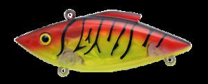 Rat-L-Trap Lipless Crankbait 1//2oz RT580 Nova Tiger Chartreuse Red Fishing