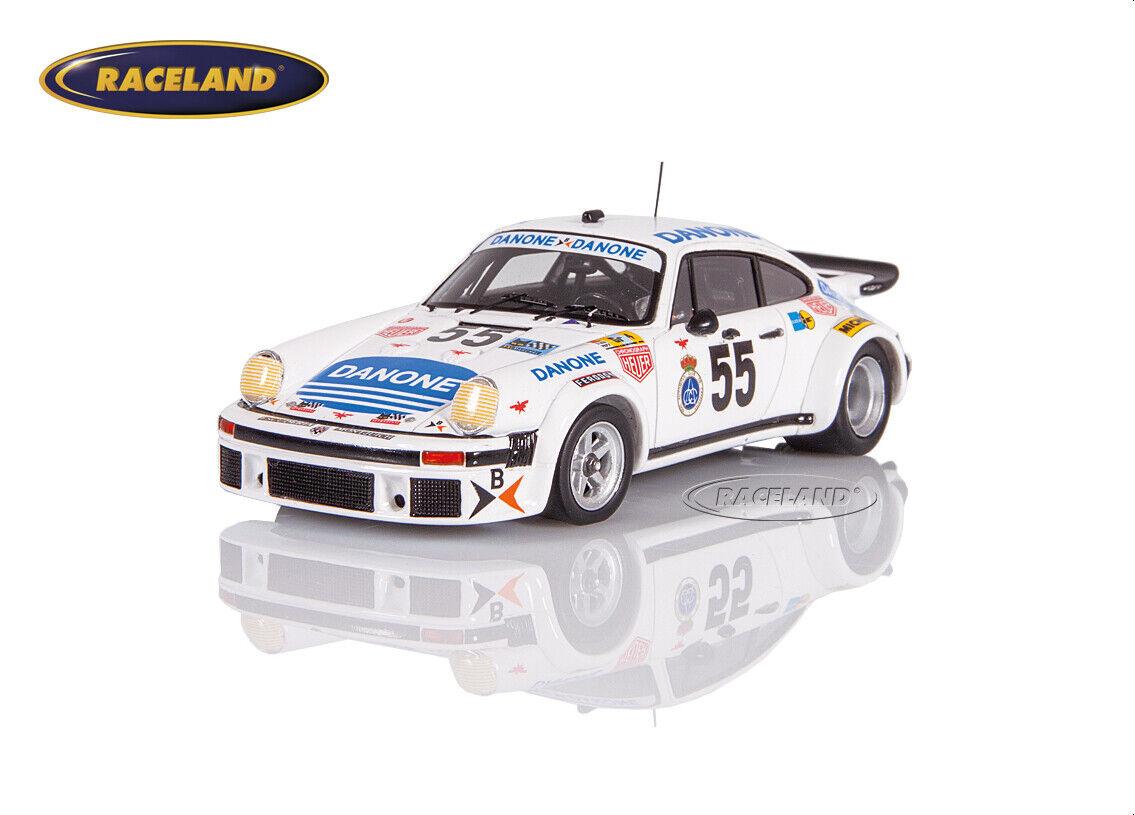 Porsche 934 turbo danone le mans 1977 Fernández baturone tar., Spark 1 43, s5090