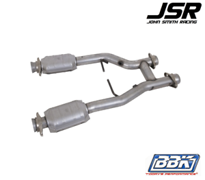 BBK 1635 2.5 Short Off-Road X-Pipe for Ford Mustang