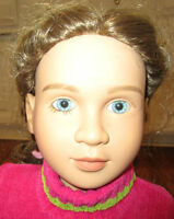 My Twinn Doll Brunette Hair Blue Eyes 1997 Neck 2001 With Outfit Shoes