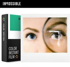 Gen 2.0 Impossible Project COLOR Instant FIlm for Polaroid Image Spectra Camera
