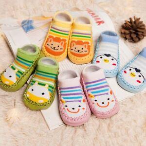 5 Pairs Kids Baby Toddler Cartoon Anti-slip Socks Socks//Shoes//Slippers Non Slip