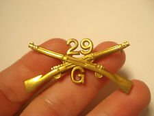 29TH INFANTRY HAT INSIGNIA CO. G