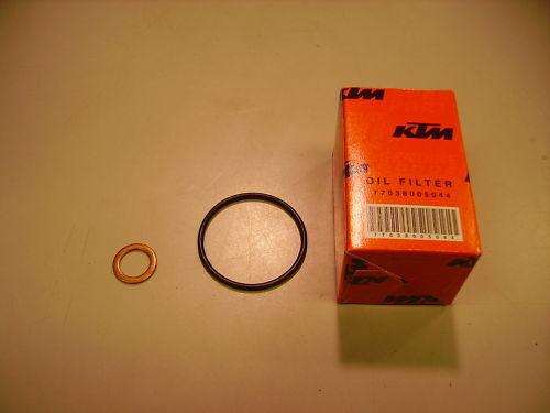 450 SXF XCF 2012-2013 OIL FILTER KIT NEW KTM 250 SXF SX-F 2005-2012