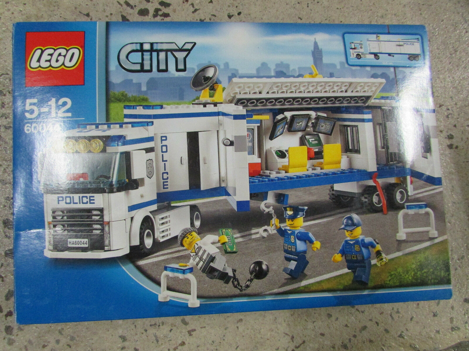 BOXED BOXED BOXED SET LEGO CITY 60044 87258f