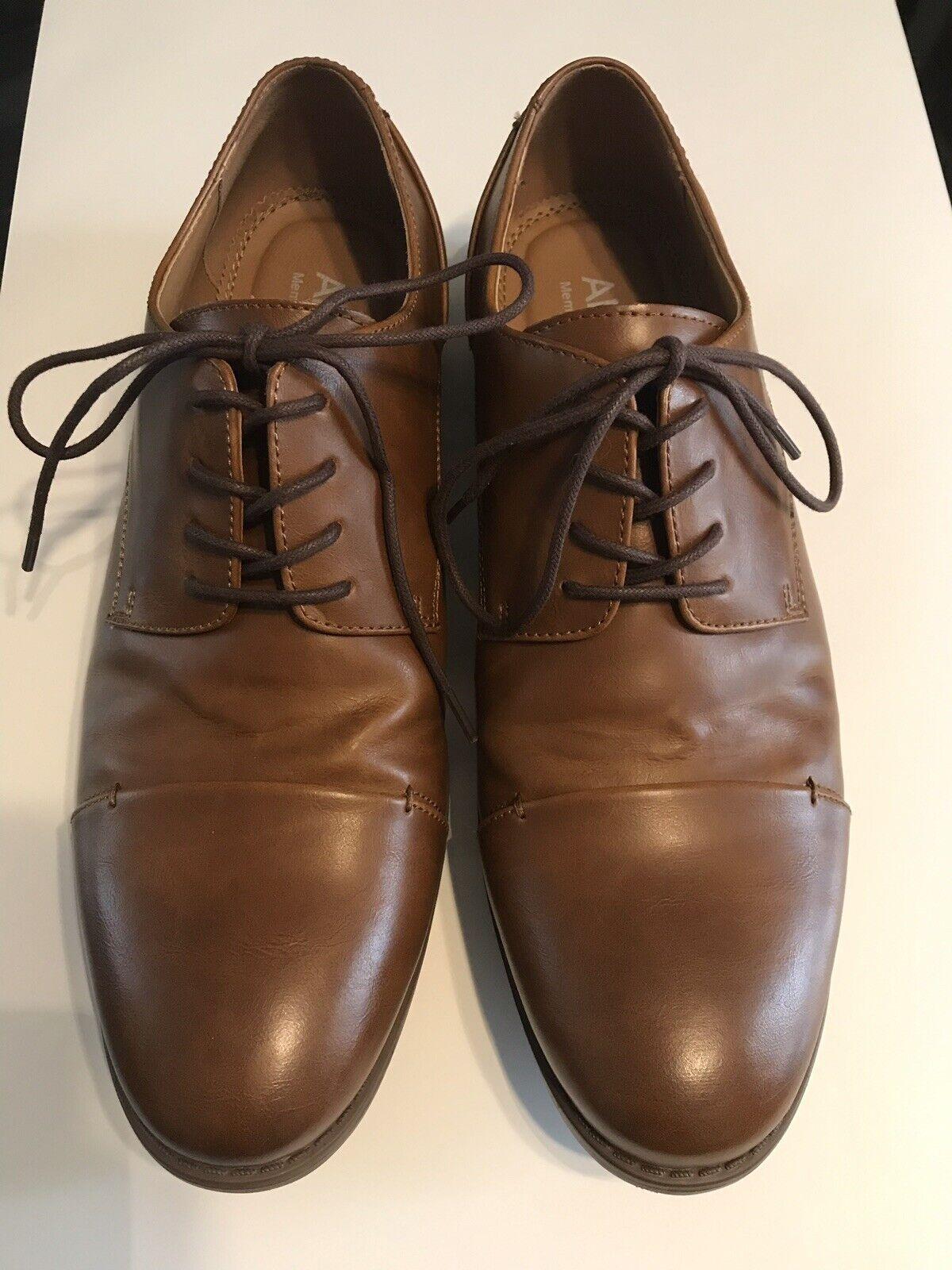 Apt.9 men's brown lace up dress shoes- size 10