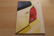 82642) VW Lupo 3L TDI Prospekt 04/2001