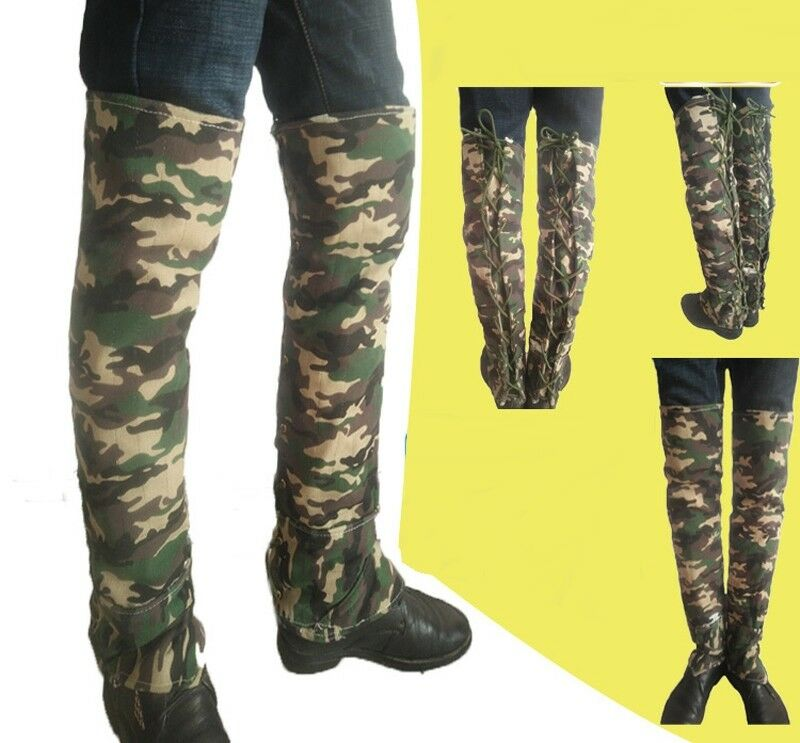 Snake Guard Leg Bite Predection Gaiter Cover Outdoor Hike Hunt Camping Materials