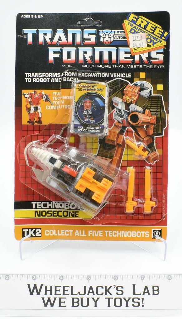 Nosecone Computron con burbuja Transformers Vintage Hasbro 1987 G1