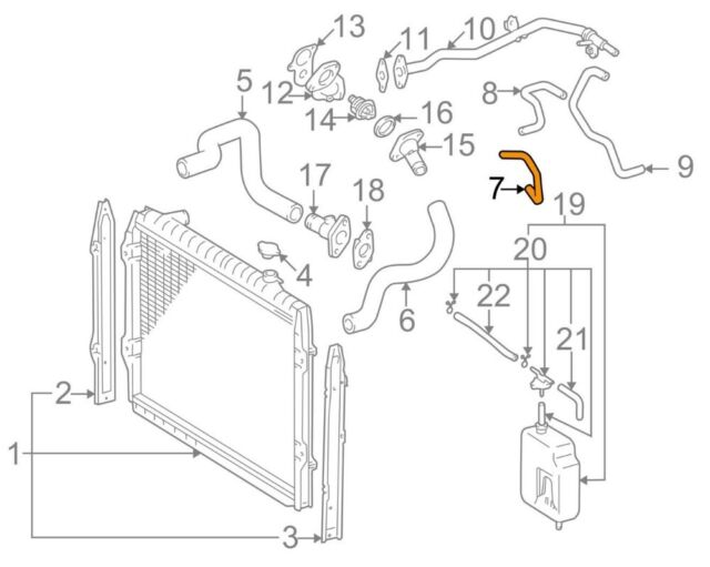 ACDelco 19130473 GM Original Equipment Automatic Transmission Auxiliary Fluid Cooler Outlet Line