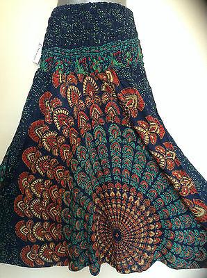New Genie Aladdin Boho Gypsy Hippy Jaipuri  Baggy Harem Pants Trousers Jumpsuit