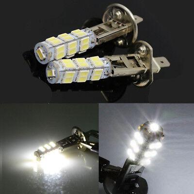 2pcs H1 LED 25-SMD Canbus Hyper White 6000K Headlight High Beam Head Light New